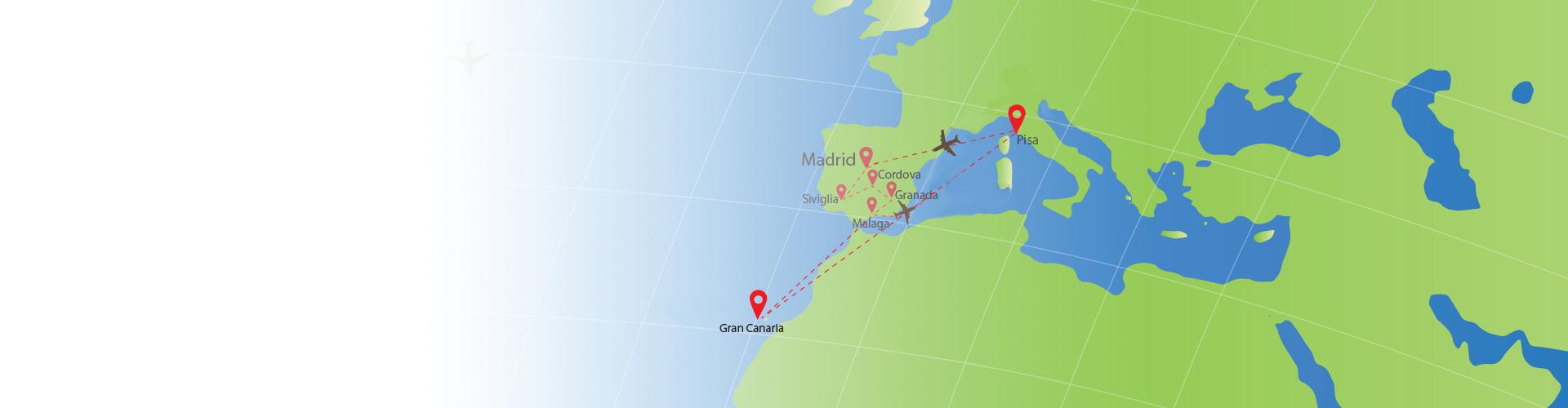 Spagna E Canarie Cartina.Pagine Sposi